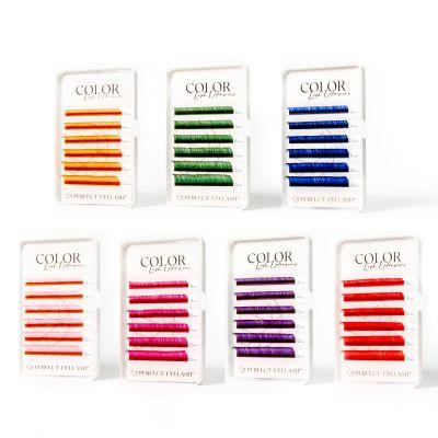 Color Lashes C-Krul 1