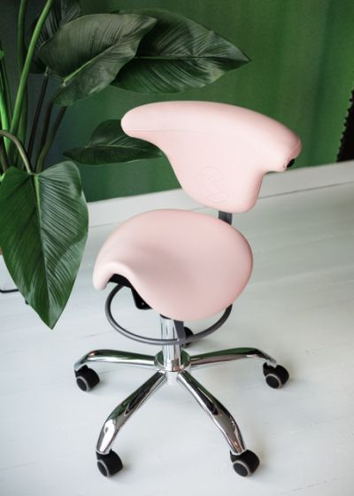 Perfect Eyelash Stool Pink