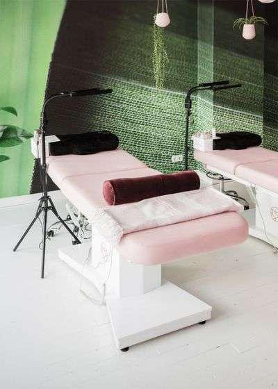Perfect Eyelash Treatment Couch Pink (twin engine)